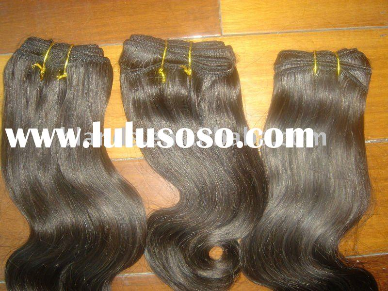 Remy Indian Human Hair Extension Natural Wave