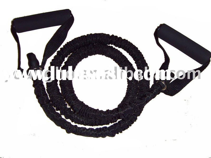 Resistance Bands 1 FIT CORD Covered Exercise Tube Cable