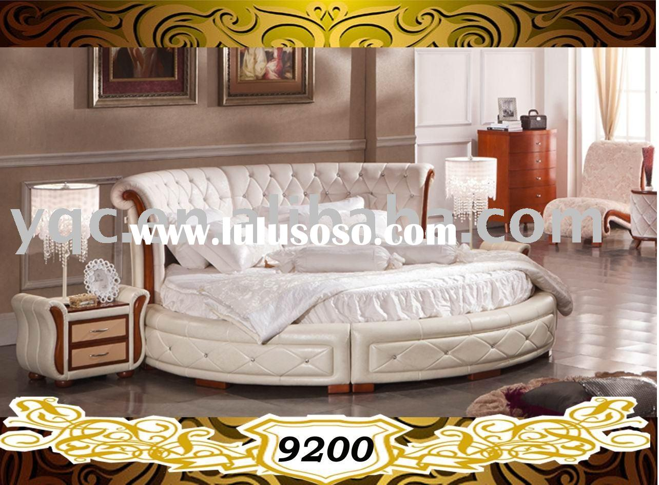 Royal Luxury Round Bed NO : 9200#