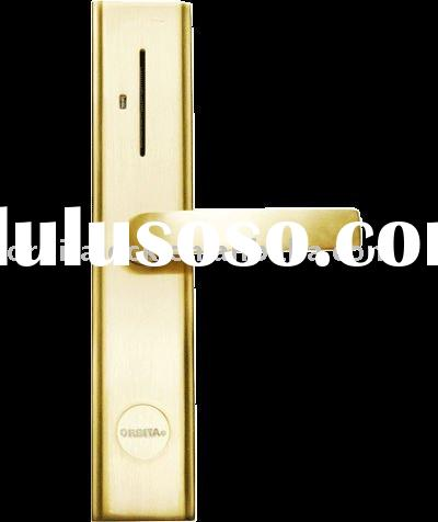 Security gate lock,apartment locks,hotel hardwares, decorate hardwares