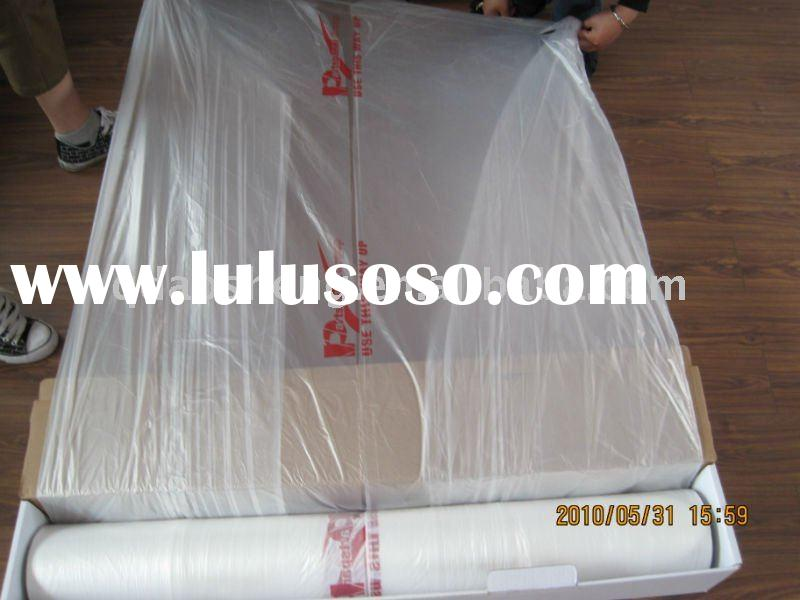 Sell car paint hdpe masking film with dispenser box