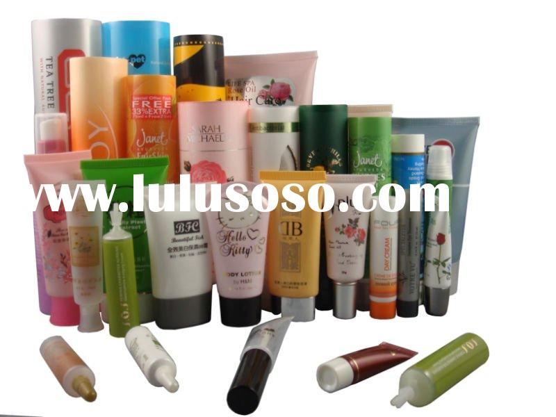 Shampoo tubes for cosmetic