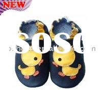 Sheepskin Soft sole Baby Leather Shoes infant prewalker Shoes Manufacture