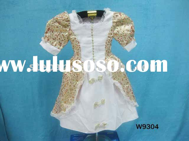 Snow White Dress for Kids, Kids Princess Fancy Dress W9304