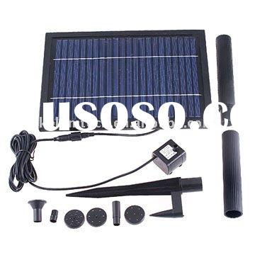 Solar pond pump for fishpond,tree garden irrigation