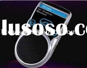 Solar power bluetooth speakerphone with factory price on hot selling now