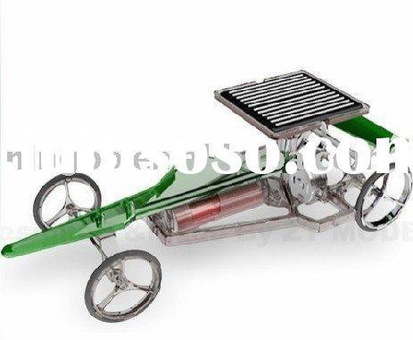 Solar powered racing car / Solar toy car