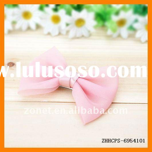Solid Colors Bow Tie Hairpin ZHHCPS-6954801