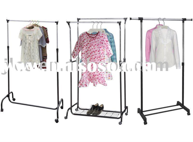 Stainless Steel Adjustable Clothes Rack