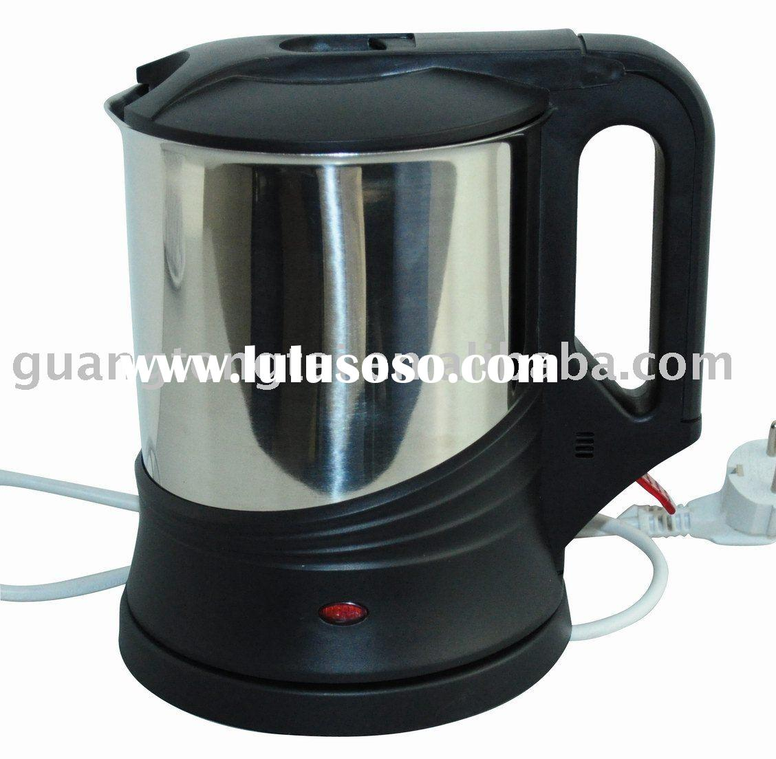 Stainless steel cordless electric water kettle