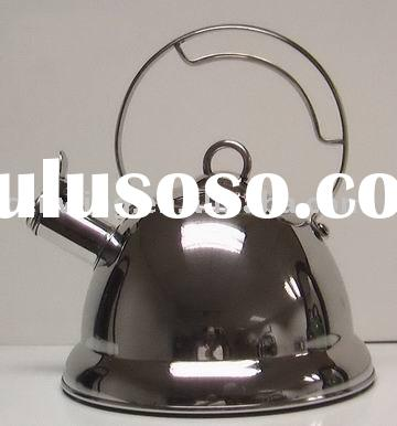 Stainless steel whistling tea kettle with NEW DESIGN