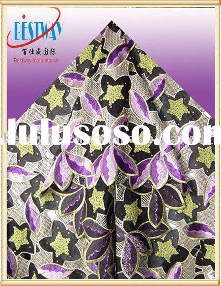 Swiss Embroidery Voile Lace FabricsSL0085