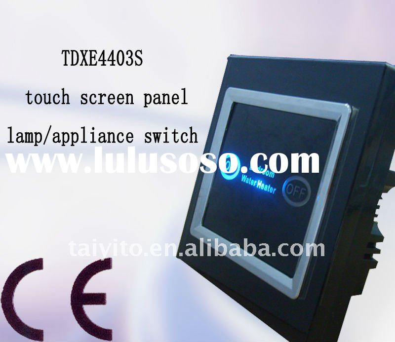 TAIYITO TDXE4403S smart home automation system lamp/appliance wall switch touch screen panel