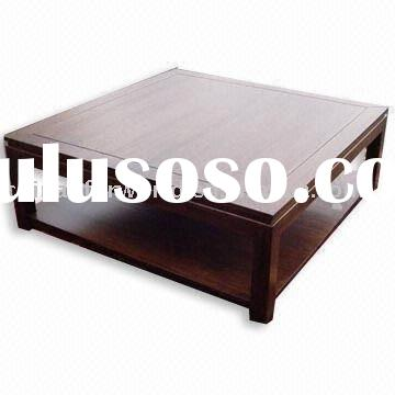 TB009B Cheap hand carved wooden coffee table