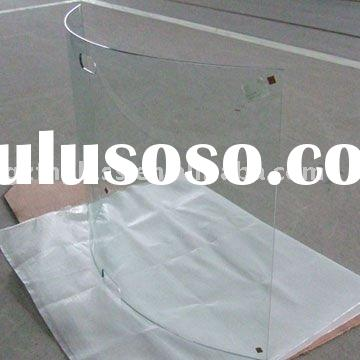 TG-01 Tempered Fire screen Glass with customer size