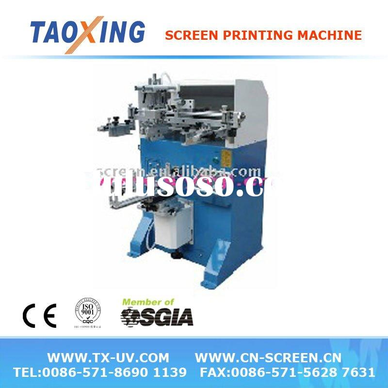 TX-250s Pneumatic curved screen printing machine