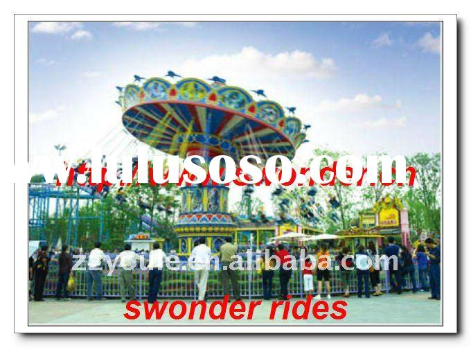 Thrilling!!! Carnival Games Flying Swinger for Families