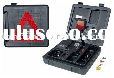 Tire Inflator Car Kit with Emergency Lights