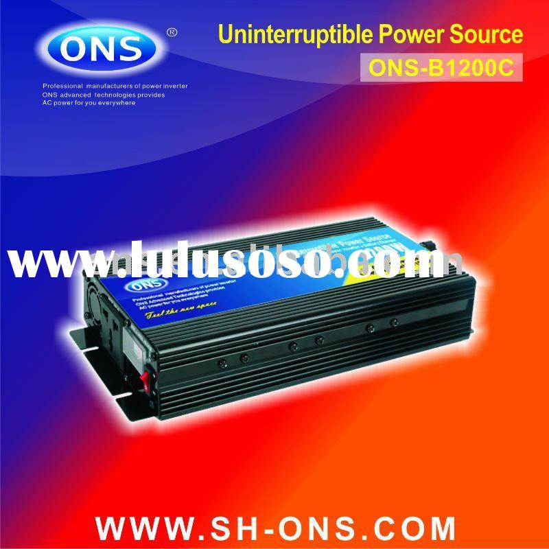 UPS Inverter 12V 24V 1200W with charger electricity provided