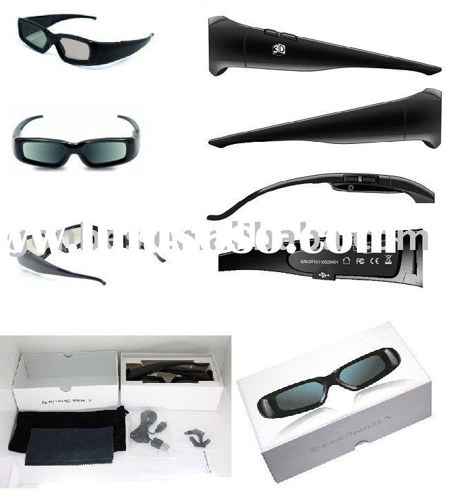 Universal 3d active shutter eyewear /video glass for Samsung/Sony/Sharp/Toshiba/Panasonic TV