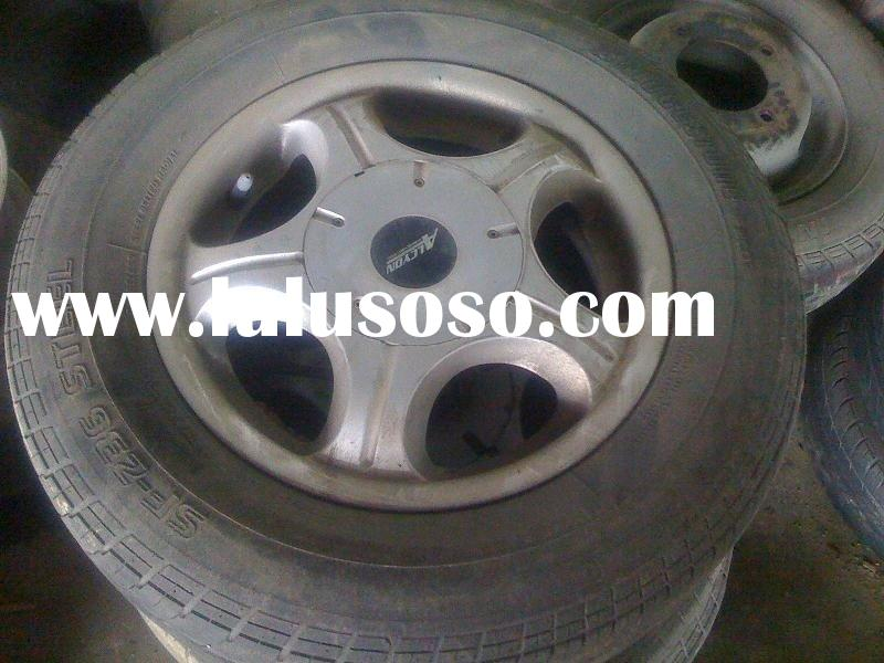 Used Tire And Alloy Wheel
