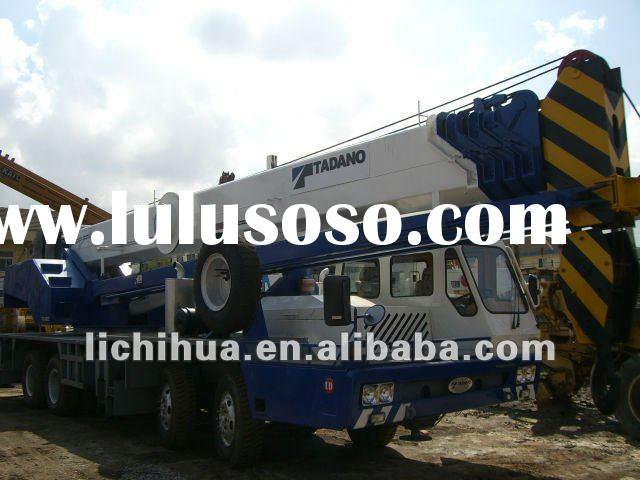 Used truck crane tadano 55ton for sale