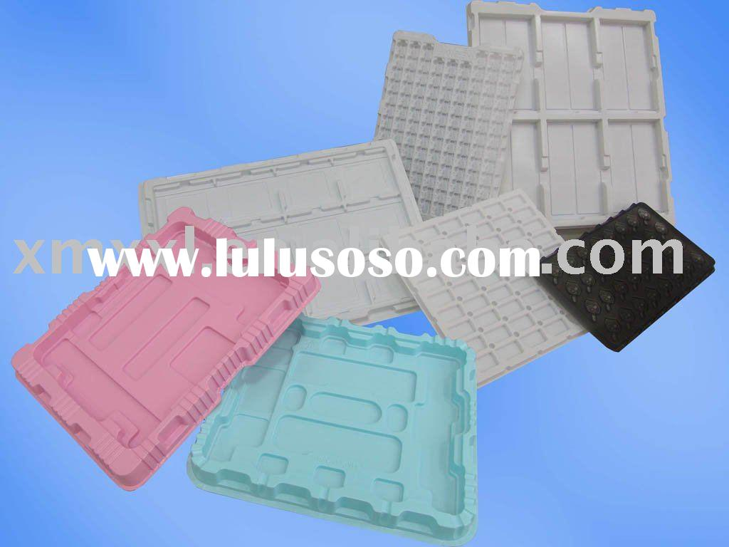 Vacuum formed plastic tray ,ESD tray for shipping electronic product