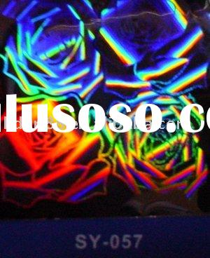 Various sizes 3D hologram sticker/hologram packing picture