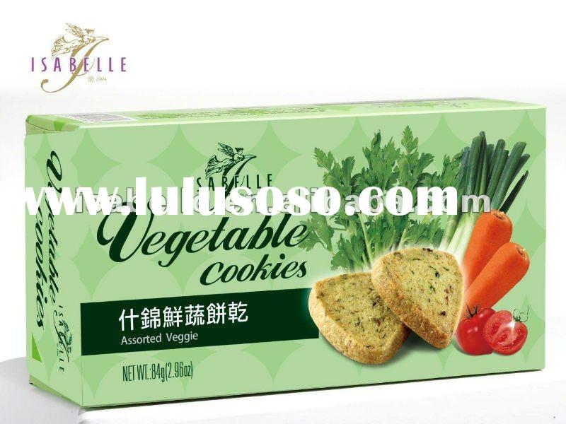 Vegetable cookies