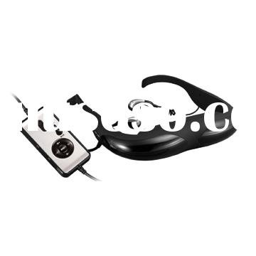 Video Glasses for watching 3D Movies+3D PC Games Play