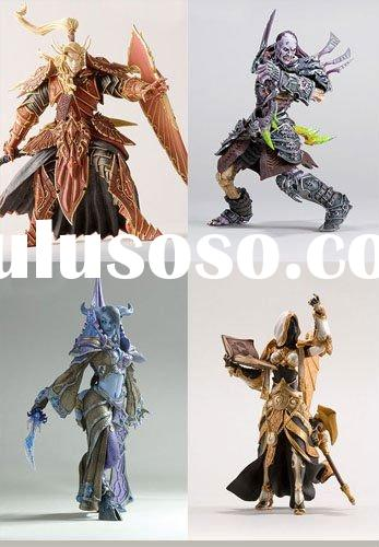 WOW 4pcs World of Warcraft DC Series 3 Action plastic Figure Set