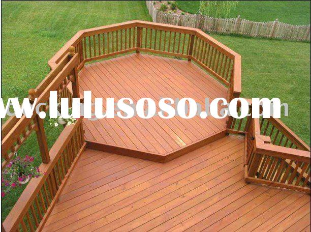 Well Design Wpc Bridge Handrail Waterproof Bridge Railing Wood Plastic Composite Stair Deck