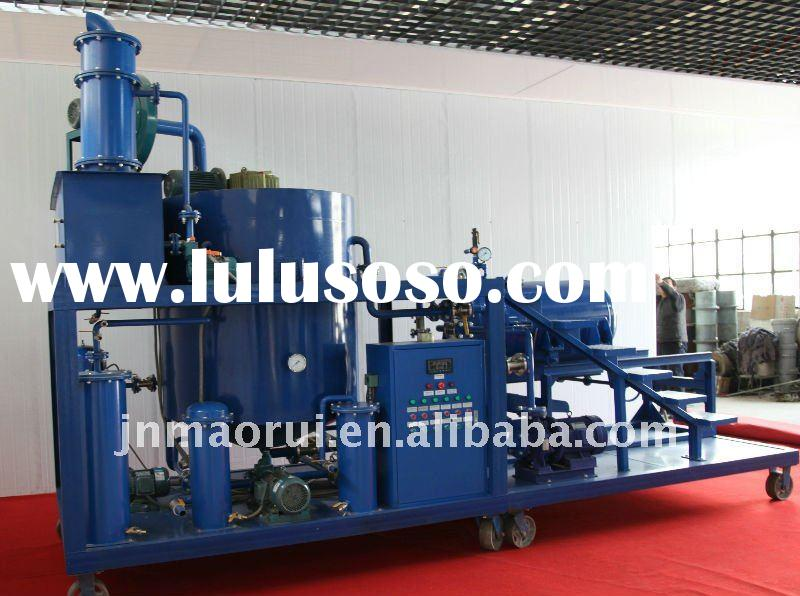 Waste used black car/motor engine oil recycling machine