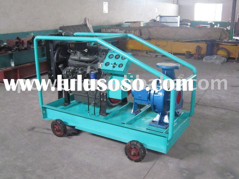 Water Cooled Engine Power Irrigation Pump