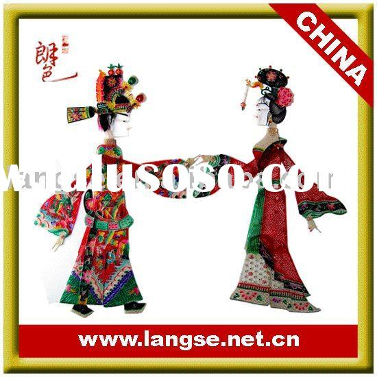 Wedding favours gifts in chinoiserie of chinese shadow puppets