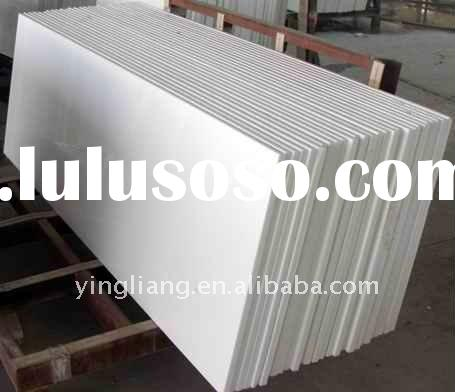 White Crystallized Glass artificial marble