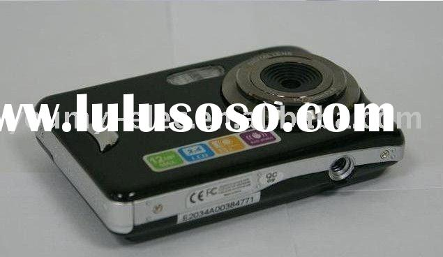"Wholesale 2.4"" Touch Screen 10MP Anti-Shake Self-Timer Cheap Digital Camera"