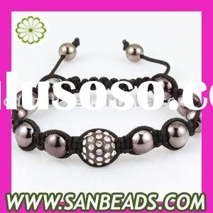 Wholesale-Crystal Ball Beads Shamballa Bracelet Jewelry