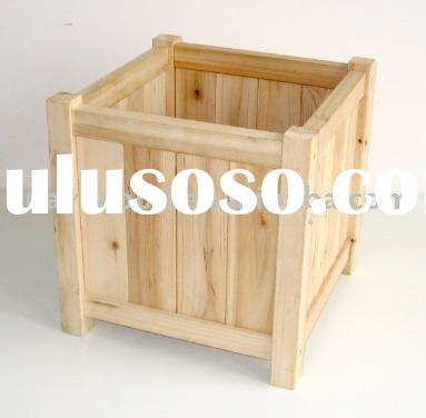 Wooden Flower Boxes, Garden Planters, Window Boxes