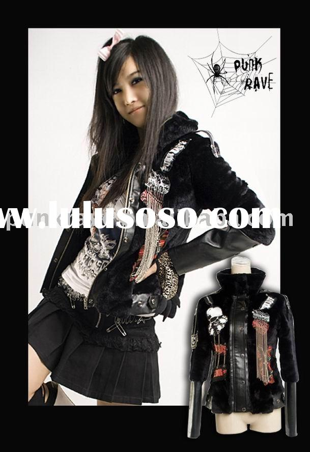 Y-252 Punk Fur Jacket from PUNK RAVE