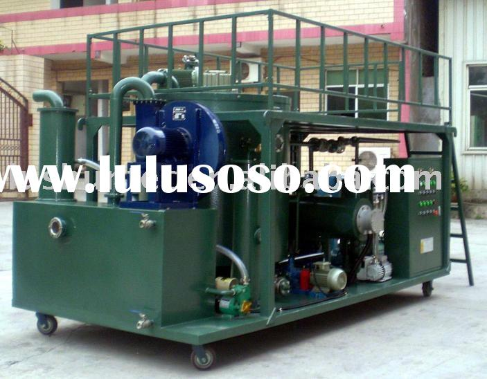 ZLE Used Diesel Engine Oil Recycling/Refinery Machine