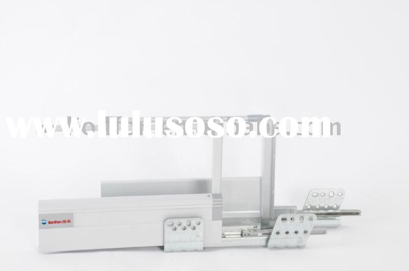 [300-550mm]kitchen cabinet double walled drawer system
