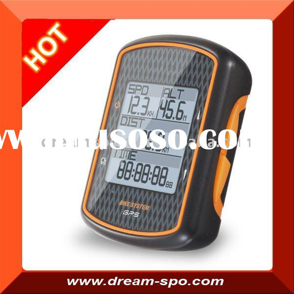 (DCY-180) professional GPS bicycle computer with heart rate monitor and cadence
