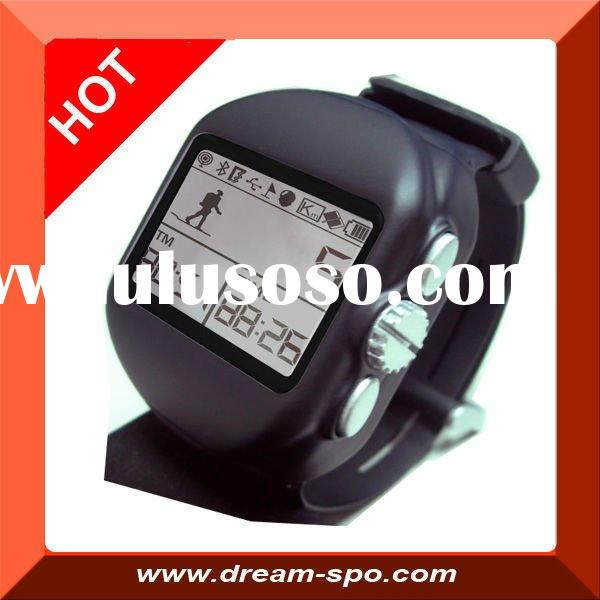 (DG-7) 2011 hot selling GPS tracker watch for swiming, running and cycling