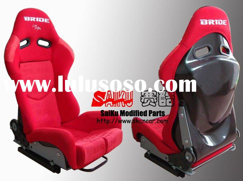 [ITEM SPS-01](CARBON BLACK)[BRIDE]adjustable racing seat(red)