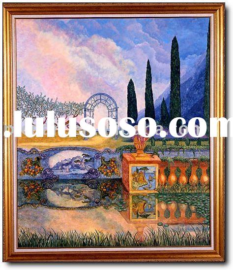 abstract landscape paintings,famous artist abstract oil paintings with high quality at good price
