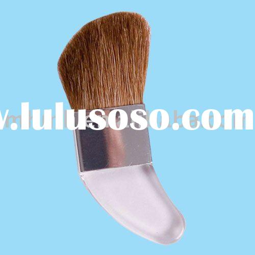 acrylic makeup brush with comfortable handle