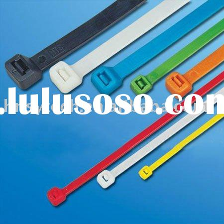 any colors self-locking nylon cable tie(ISO9001)