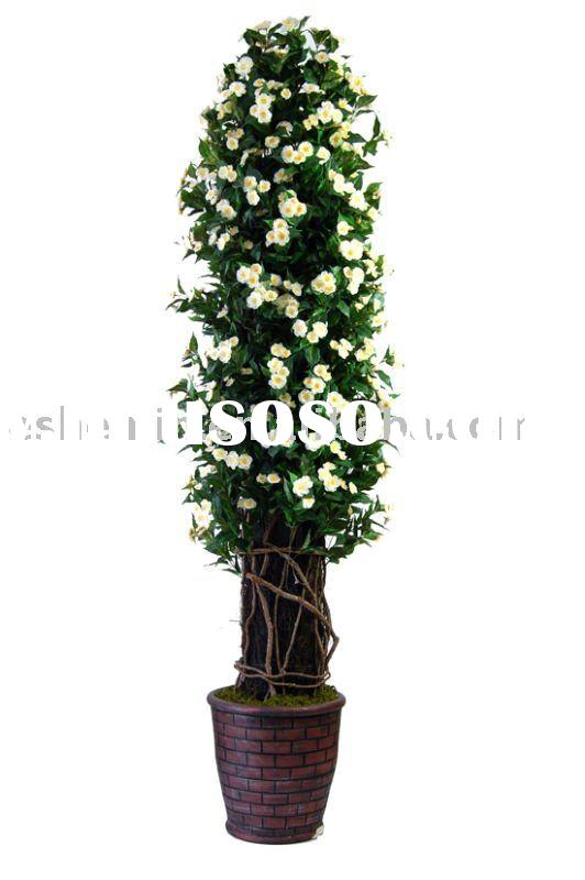 artificial cherry blossom potted plant tree