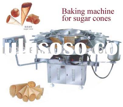 baking machine for sugar cones;ice cream cone maker